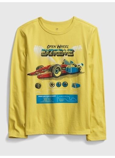 Gap Tişört Sarı